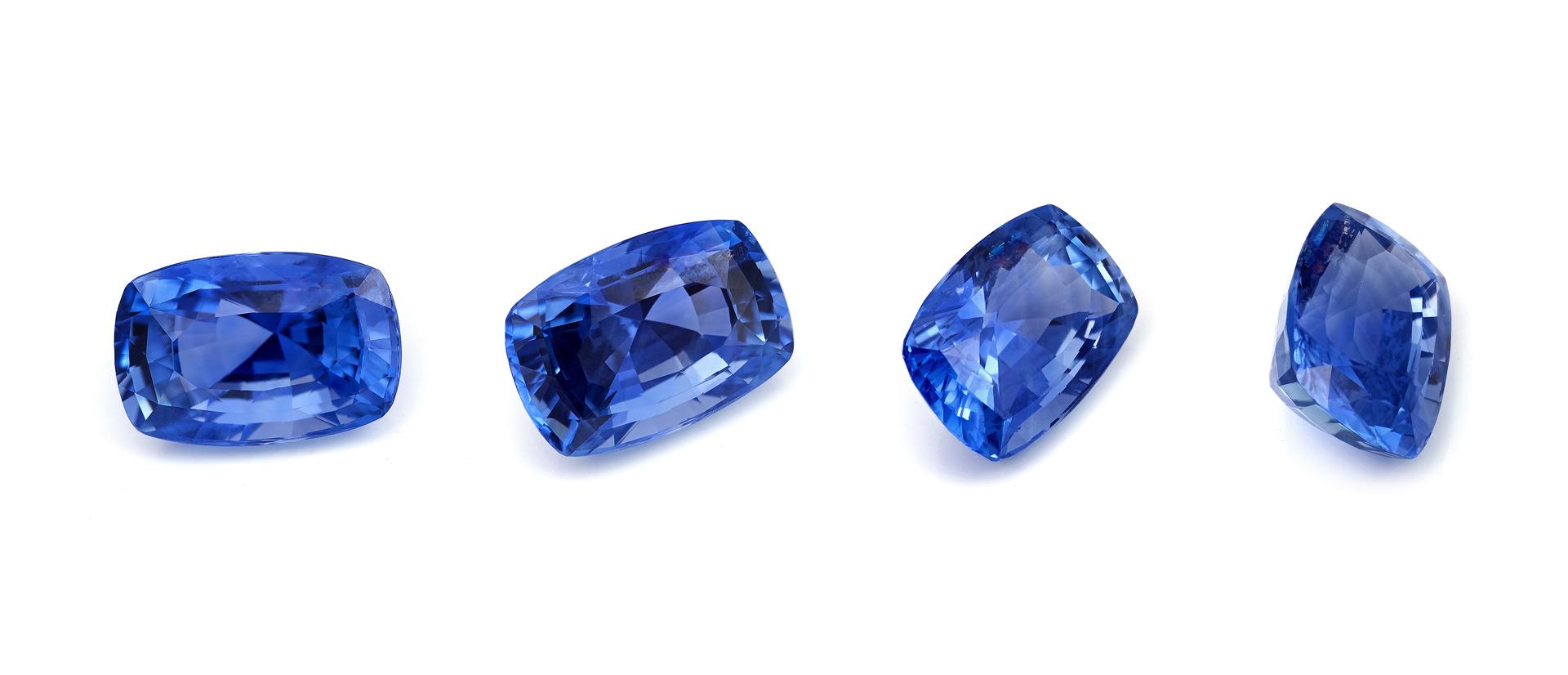 Gemmologie du saphir bleu
