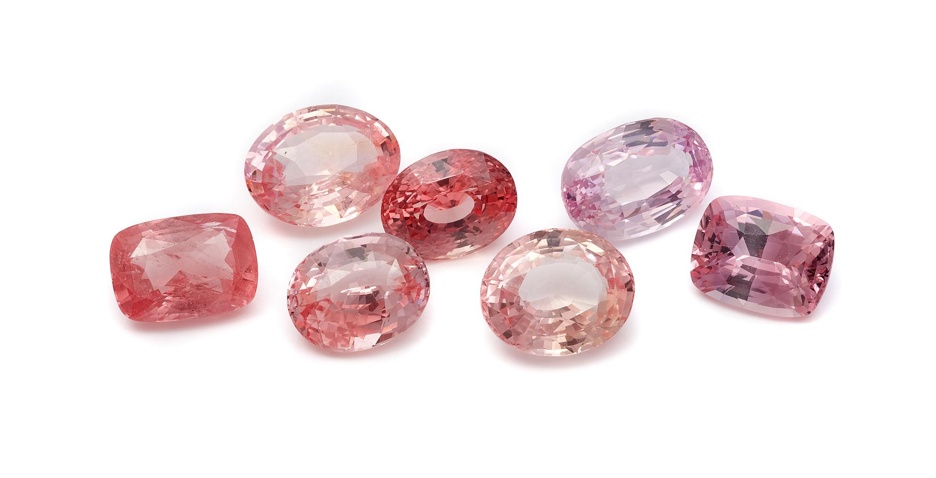 gemmologie saphir rose