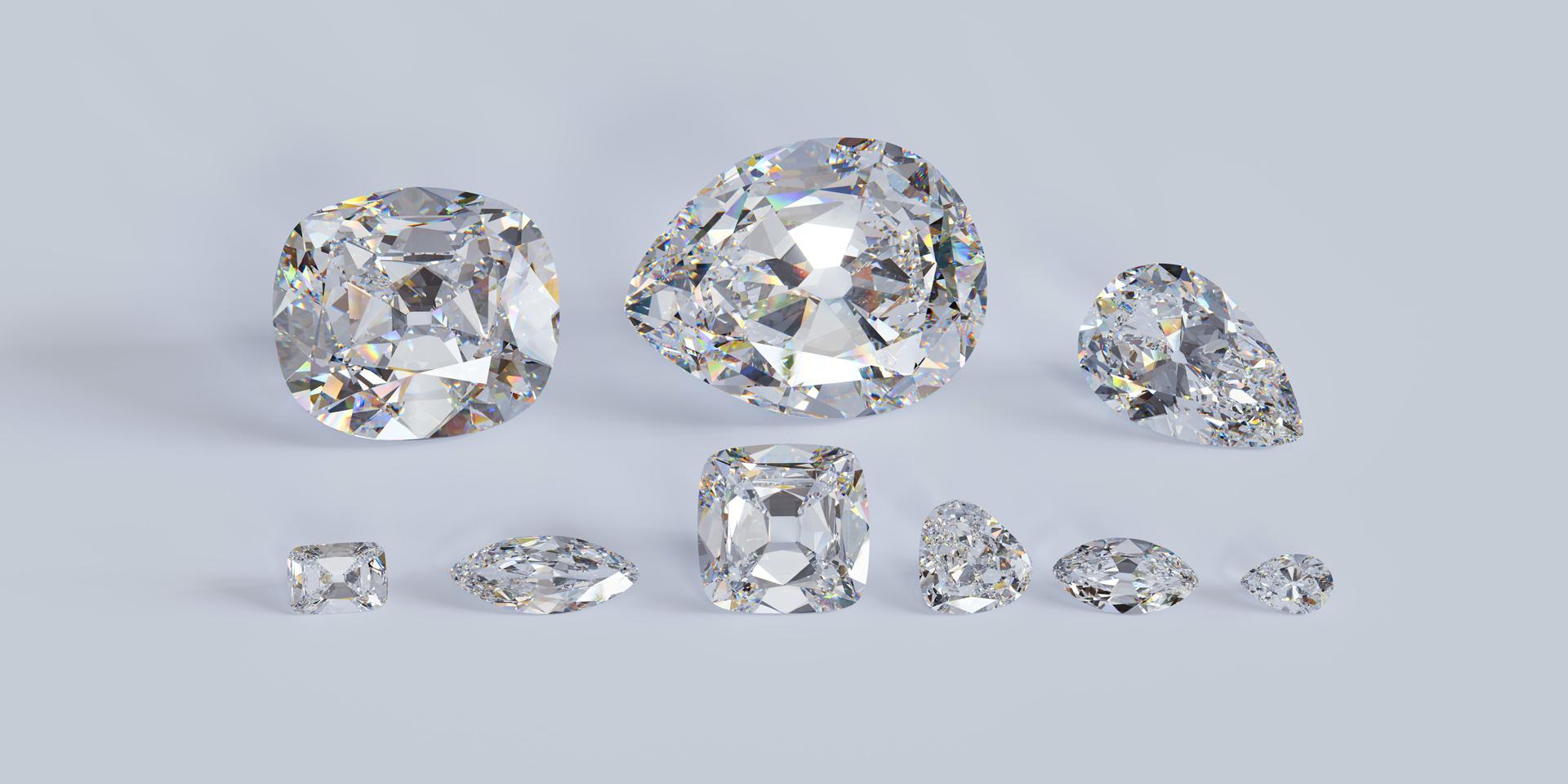 taille de diamant joaillerie