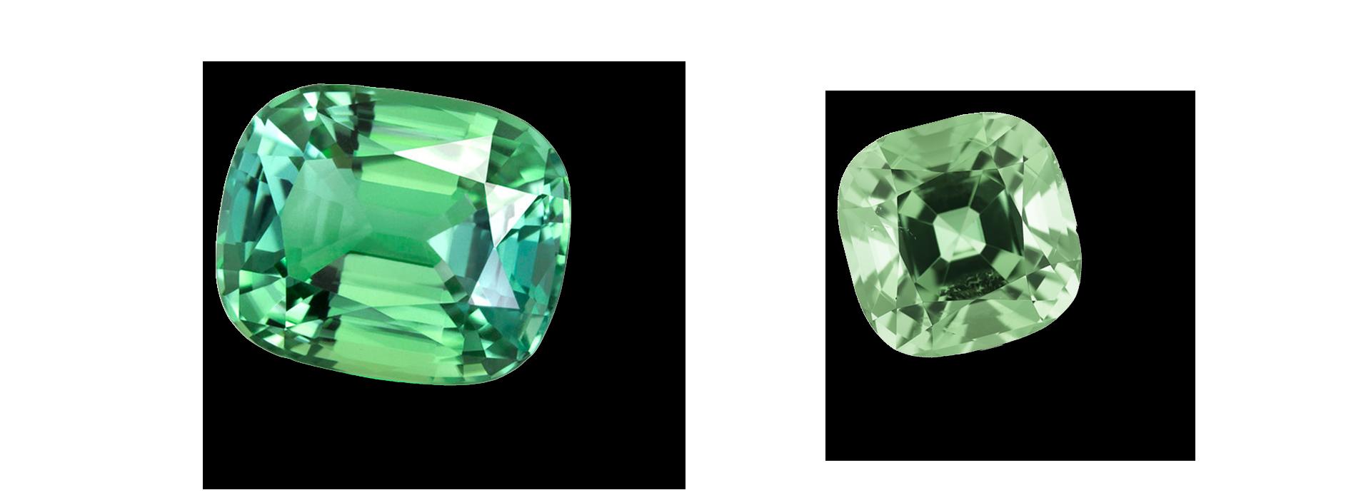 pierre tourmaline mint